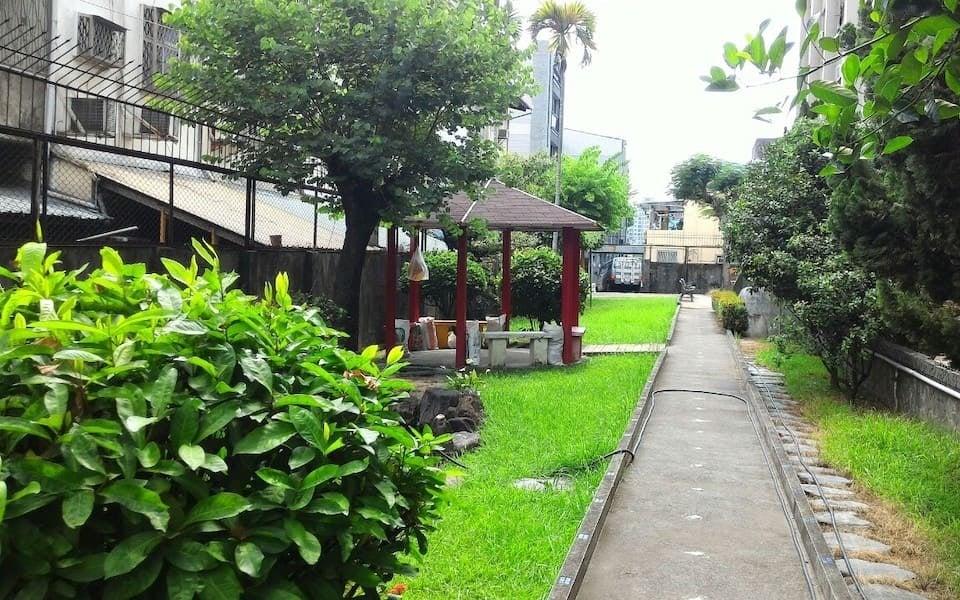 綠意盎然的後花園